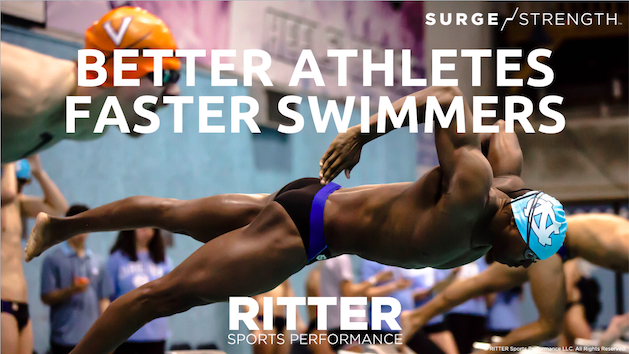 Better Athletes Equal Faster Swimmers